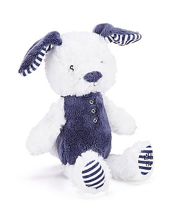 "Image of Little Me Baby Boys 11"" Huggable Puppy Plush"