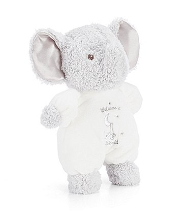 Image of Little Me Baby Welcome To The World Elephant Plush
