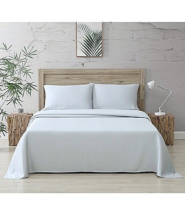 Image of Bamboo Bliss Resort Bamboo Collection by RHH 400 Thread-Count Bamboo Sateen Sheet Set