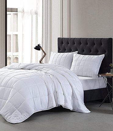 Image of Bamboo Bliss Resort Bamboo Collection by RHH Bamboo Down Alternative Sateen Comforter