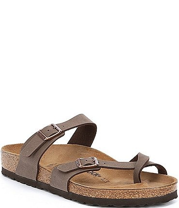 Image of Birkenstock Women's Mayari Adjustable Buckle Criss Cross Sandals