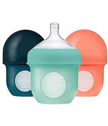 Image of Boon NURSH 4oz Reusable Silicone Pouch Bottle
