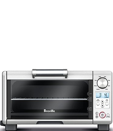 Image of Breville Mini Smart Oven®, 8 functions Toaster Oven, Brushed Stainless Steel