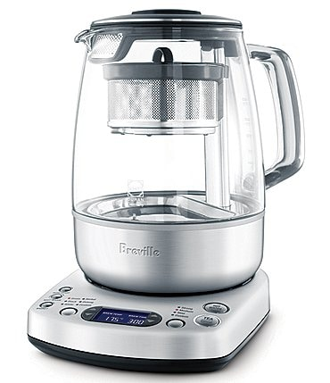 Image of Breville Brushed Stainless Steel Customizeble Settings Tea Maker