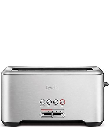Image of Breville A Bit More'® Long-Slot 4 Slice Stainless Steel Toaster