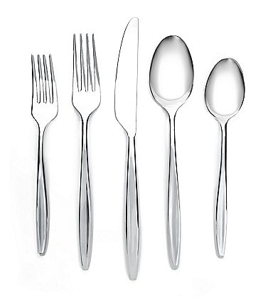 Image of Cambridge Silversmiths Natalia 20-Piece Stainless Steel Flatware Set