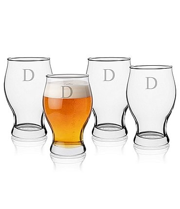 Image of Cathy's Concepts Initial Barlow Beer Glass Set