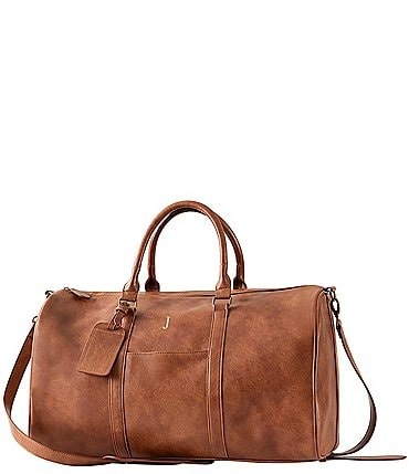 Image of Cathy's Concepts Men's Vegan Leather Transport Duffel