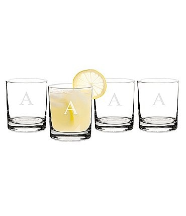 Image of Cathy's Concepts Personalized 14 oz. Drinking Glasses Set of 4