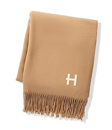 Image of Cathy's Concepts Personalized Camel 2-Tone Throw Blanket