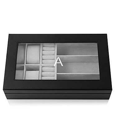 Image of Cathy's Concepts Personalized Unisex Jewelry & Watch Box