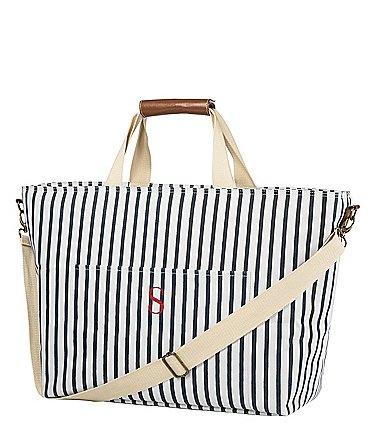 Image of Cathy's Concepts Personalized Striped Cooler Tote
