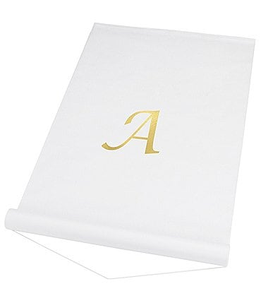 Image of Cathy's Concepts Initial Wedding Aisle Runner