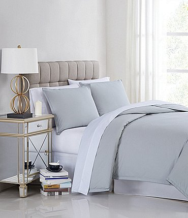 Image of Charisma 400 Thread Count Percale Cotton Duvet Mini Set
