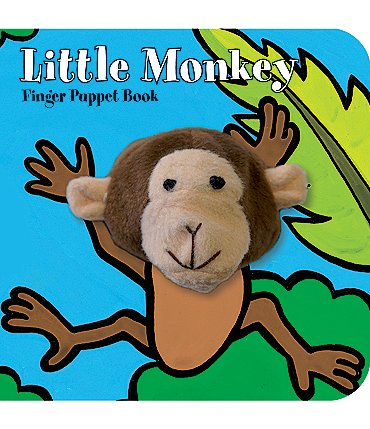 Image of Chronicle Books Little Monkey Finger Puppet Book