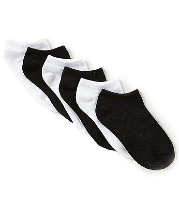Image of Class Club Boys 6-Pack No-Show Socks