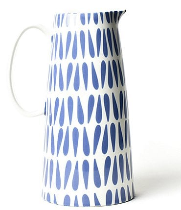 Image of Coton Colors Wedgewood Drop Pedestal Pitcher