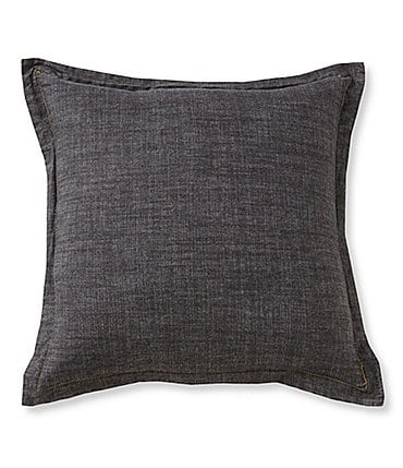 Image of Cremieux Vintage Denim Square Pillow