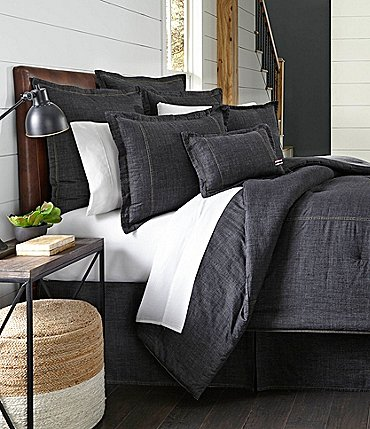 Image of Cremieux Vintage Washed Denim Duvet