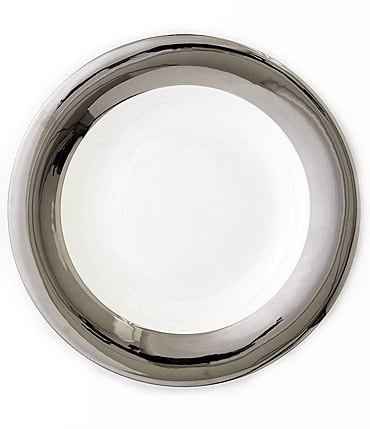 Image of Darbie Angell Monaco Platinum Dinner Plate