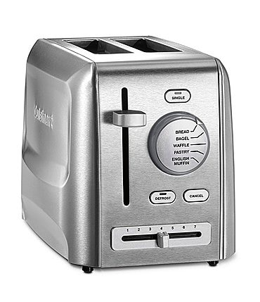 Image of Cuisinart 2-Slice Stainless Steel Toaster