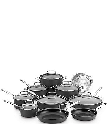 Image of Cuisinart Chef's Classic Nonstick Hard Anodized 17-Piece Cookware Set