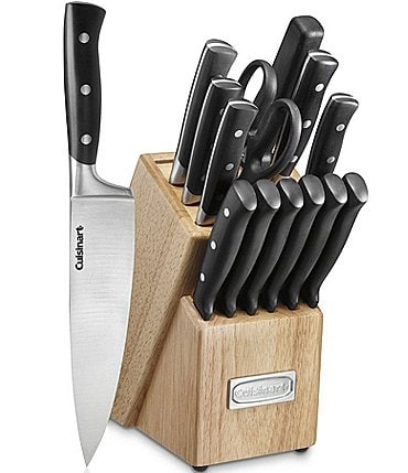 Image of Cuisinart Classic 15-Piece Triple Rivet Block Set