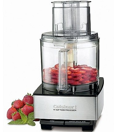 Image of Cuisinart Custom 14-Cup Brushed Stainless Food Processor