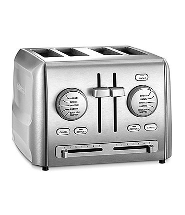 Image of Cuisinart Custom Stainless Steel 4-Slice Toaster