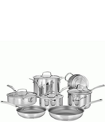 Image of Cuisinart Forever Stainless 11-Piece Cookware Set