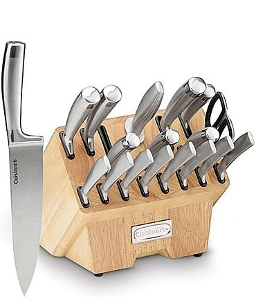 Image of Cuisinart Normandy 19-Piece Stainless Steel Cutlery Block Set