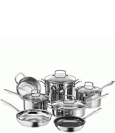 Image of Cuisinart Professional Stainless 11-Piece Cookware Set
