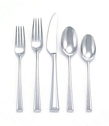 Image of Dansk Bistro Cafe Stainless Steel Flatware