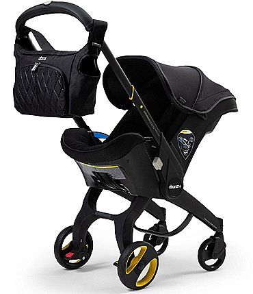 Image of Doona Infant Convertible Car Seat and Stroller - Midnight Edition