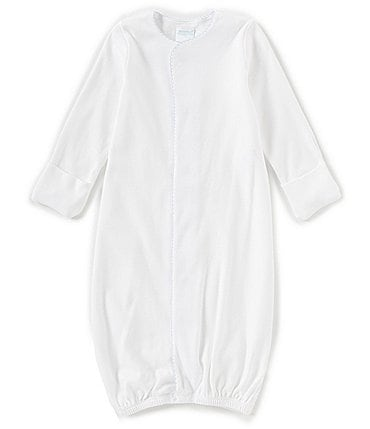 Image of Edgehill Collection Supima Cotton Baby Boys Newborn-6 Months Supima Gown