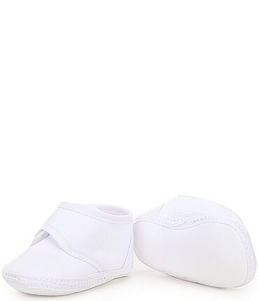 Image of Edgehill Collection Baby Newborn-9 Months Christening Crib Shoes (Infant)