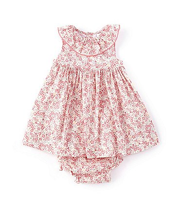 Image of Edgehill Collection Baby Girls 3-24 Months Ditsy Floral A-Line Dress