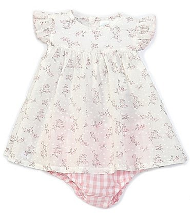 Image of Edgehill Collection Baby Girls 3-24 Months Floral A-Line Dress