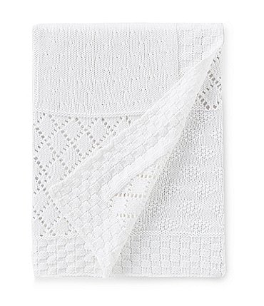 Image of Edgehill Collection Baby Knit Patchwork Blanket