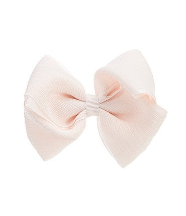 Image of Edgehill Collection Little Girls Crushed Chiffon Mini King Bow