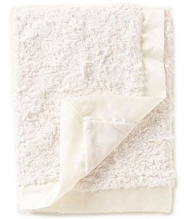 Image of Edgehill Collection Baby Satin-Trim Blanket