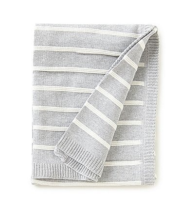Image of Edgehill Collection Striped Baby Blanket