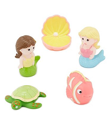 Image of Elegant Baby Baby Girls Mermaid Bath Squirties