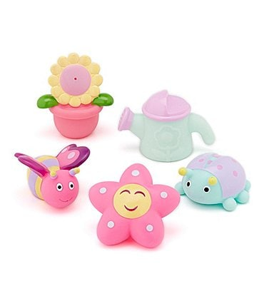 Image of Elegant Baby Garden Party Bathtub Squirties