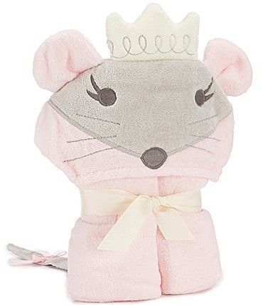 Image of Elegant Baby Girls Mouse Hooded Bath Towel