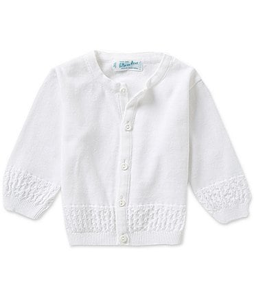 Image of Feltman Brothers Baby Newborn-24 Months Diamond Pattern Knit Cardigan