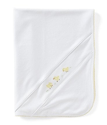 Image of Feltman Brothers Baby Chick Embroidered Blanket