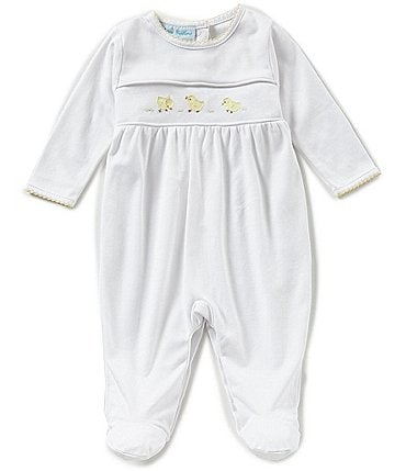 Image of Feltman Brothers Baby Newborn-9 Months Chick Embroidered Coverall