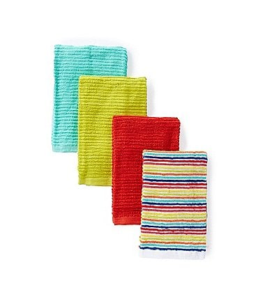 Image of Fiesta Bar Mop Kitchen Towels Set of 4