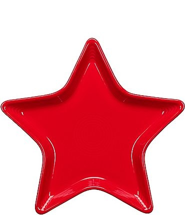 Image of Fiesta Ceramic Star Plate